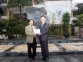 Đón đoàn khách mời từ Học viện Daewoo Sky và trường Đại học Nguyễn Tất Thành